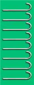 "Epic 14"" Long J-Hook Soccer Goal Anchors Set of 8"