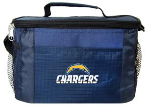 NFL Los Angeles Chargers 6-Pack Cooler/Lunch Box