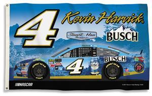 NASCAR Kevin Harvick #4 3' x 5' 2-Sided Flag