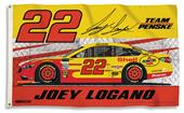 NASCAR Joey Logano #22 3' x 5' 2-Sided Flag