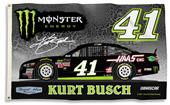NASCAR Kurt Busch #41 3' x 5' 2-Sided Flag