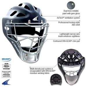 Gem Gloss Pro-Plus Catchers Hockey Style Headgear