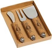 Picnic Plus Vintage Cheese Knife (set of 3)