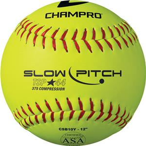 11&quot; 12&quot; Tournament Slow Pitch Softball ASA CSB10Y