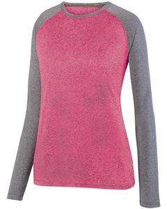 Augusta Sportswear Ladies Kinergy LS Raglan Tee