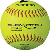 Champro Game .44 Slow Pitch ASA Softballs