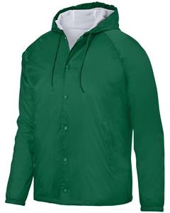 Augusta Sportswear Adult Hooded Coach's Jacket