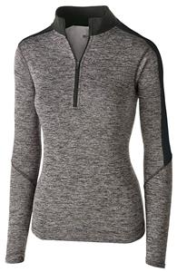Holloway Ladies Electrify 1/2 Zip Pullover Jacket