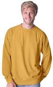 Cotton Heritage Mens French Terry Crew