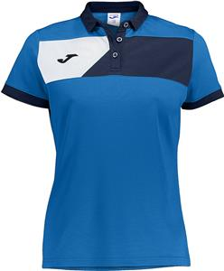 Joma Womens Girls Crew II Polo Shirt