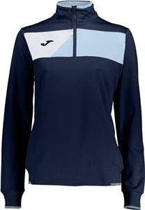 Joma Womens Girls Crew II 1/2 Zip Jacket