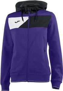 Joma Womens Girls Crew II Full Zip Hood Jacket