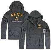 Rapid Dominance U.S. Army Full Zip Printed Hoodie