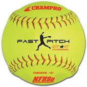 "12"" Game Fast Pitch Softballs NFHS CSB5DYN"