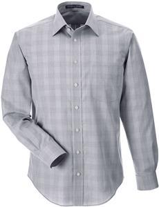 Devon & Jones Mens Glen Plaid Shirt