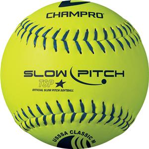 "12"" USSSA Classic M Slow Pitch Softballs CSB82"