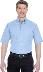 UltraClub Mens Classic Wrinkle-Resistant Oxford