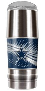 NFL Dallas Cowboys Stainless Steel Vacuum Tumbler