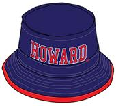 WRepublic Howard University College Bucket Hat