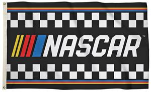 NASCAR 3' x 5' 1-Sided Checkered Flag
