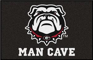 Fan Mats NCAA Univ of Georgia Man Cave Starter Mat