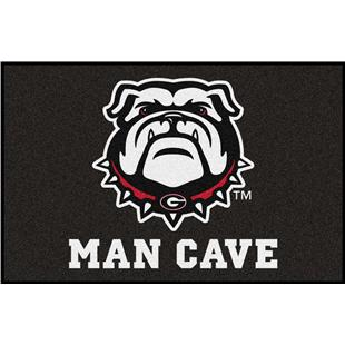 Fan Mats NCAA Univ of Georgia Man Cave Starter Mat
