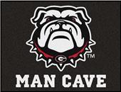 Fan Mats NCAA Univ. Georgia Man Cave All-Star Mat