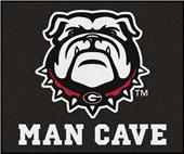 Fan Mats NCAA Univ. Georgia Man Cave Tailgater Mat