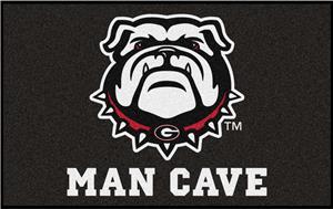 Fan Mats NCAA Univ. of Georgia Man Cave UltiMat