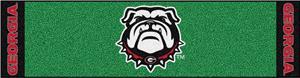 Fan Mats NCAA Univ. of Georgia Putting Green Mat