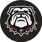 Fan Mats NCAA University of Georgia Puck Mat