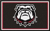 Fan Mats NCAA University of Georgia 4'x6' Rug