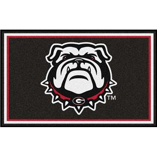 Fan Mats NCAA University of Georgia 4'x6' Rug