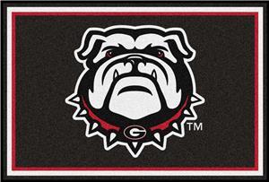 Fan Mats NCAA University of Georgia 5'x8' Rug