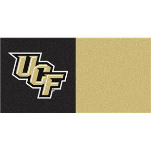 Fan Mats NCAA UCF Team Carpet Tiles