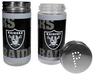 NFL Oakland Raiders Salt & Pepper Shakers