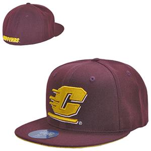 WRepublic C Michigan Freshman Fitted College Cap