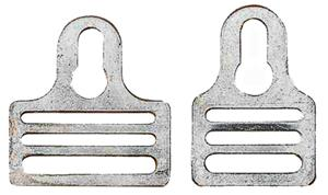 Hardware for Shoulder Pads Key Hole Fastener