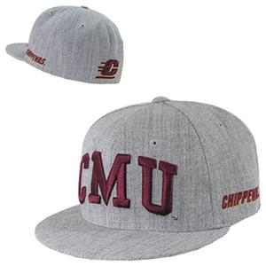 WRepublic Central Michigan Game Day Fitted Cap