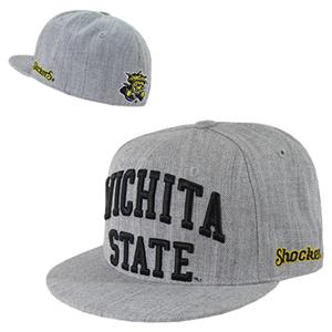 WRepublic Wichita State Univ Game Day Fitted Cap