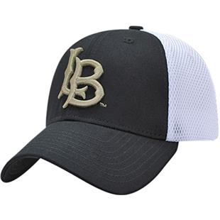Cal State Long Beach Structured Mesh Flex Cap