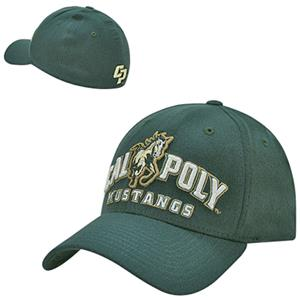 Cal State Poly Structured Flex Acrylic Cap