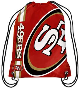 NFL San Francisco 49ers Drawstring Backpack
