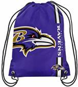 NFL Baltimore Ravens Drawstring Backpack