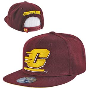 WRepublic Central Michigan College Snapback Cap