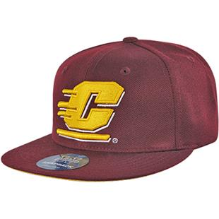 WRepublic Central Michigan College Snapback Cap