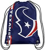 NFL Houston Texans Drawstring Backpack