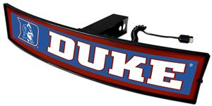 Fan Mats NCAA Duke Light Up Hitch Cover