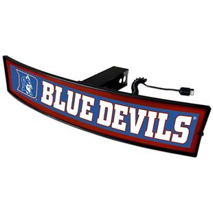 Fan Mats NCAA Blue Devils Light Up Hitch Cover
