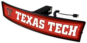 Fan Mats NCAA Texas Tech Light Up Hitch Cover